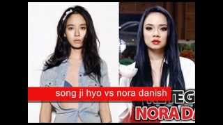 Song Ji Hyo vs Nora Danish (look a like)