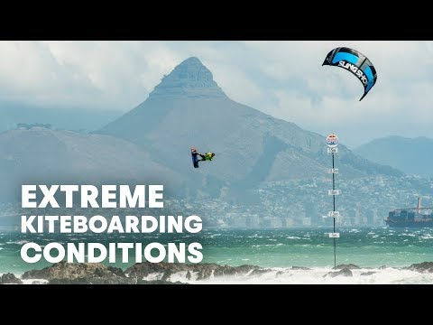 Extreme Kiteboarding In Pumping Conditions | Red Bull King Of The Air 2016
