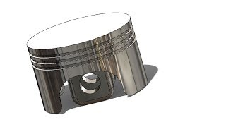 SolidWorks ʬ Tutorial #144car: Piston Head