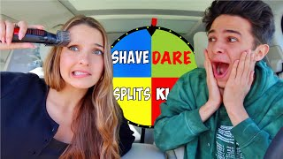 EXTREME DARES WITH MY BEST FRIENDS! (Spin the Wheel!) | Brent Rivera