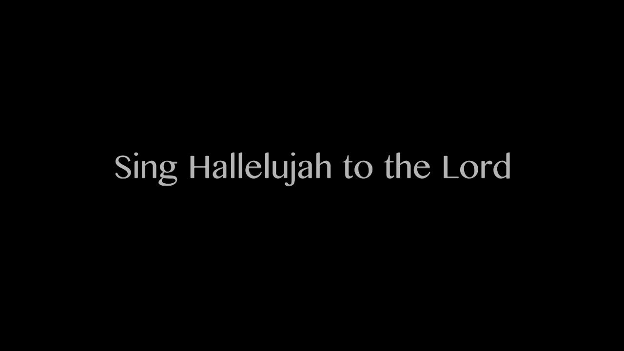 【10分鐘版】香港人唱聖詩 Sing Hallelujah To The Lord Looped 10 minutes Hong Kong - YouTube