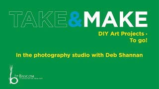 In the photography studio with Deb Shannan