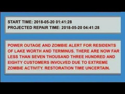 *Bizarre Zombie Alert Issued*Whistle Blower Warning Imminent Power Plant Explosion/Tsunami?*