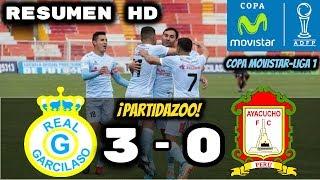 Real Garcilazo vs Ayacucho Fc (3-0) Resumen HD  Oficial