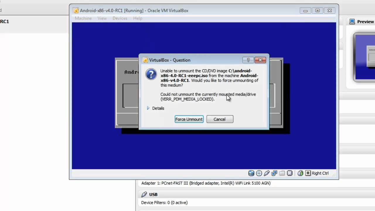 Install Android-x86 v4 0 RC1 on Oracle VirtualBox - Davoud Teimouri