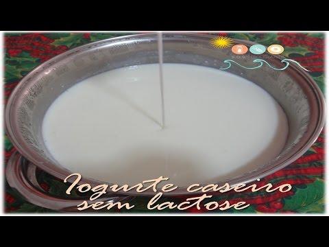 Como fazer Iogurte natural caseiro sem lactose