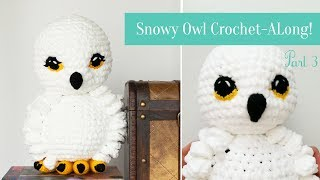 Snowy Owl Crochet-Along Part 3!