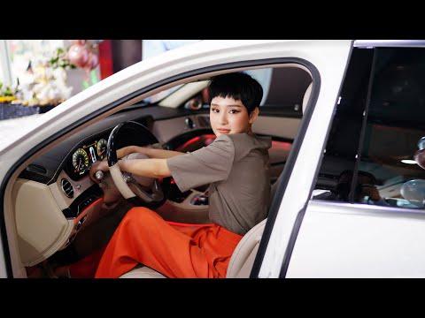 """Ca sĩ Hiền Hồ dám """"mạnh tay"""" tậu luôn xế hộp S450 Luxury đẳng cấp hơn 5 tỷ dù mới mua xe lần đầu!"""