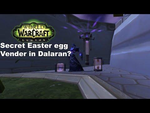 WoW Legion:How To Find The Secret Easter Egg Vendor in Dalaran