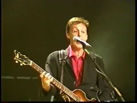 Paul McCartney Live At The National Car Rental Center, Ft. Lauderdale, USA (Friday 17th May 2002)