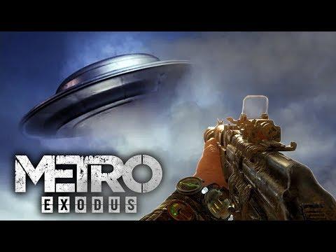 """В """"МЕТРО: ИСХОД"""" НАШЛИ НАСТОЯЩЕЕ НЛО! САМАЯ СЕКРЕТНАЯ ПАСХАЛКА! (Metro: Exodus UFO Easter Egg)"""