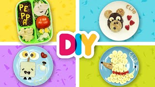 4 DELICIOUS Baby Food Art Snacks to make | Healthy-n-Yummy | DIY Art & Crafts for Parents