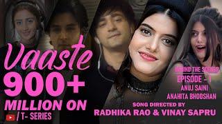 Vaaste Sets An Unbreakable Record..Dhvani Bhanushali,Tanishk,Radhika Rao,Vinay Sapru,Siddharth Gupta