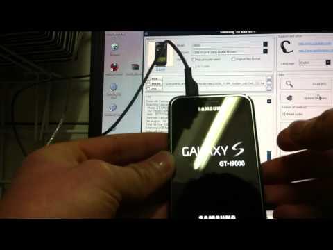 Unlock SAMSUNG GALAXY S I9000 With Z3XBOX Tutorial
