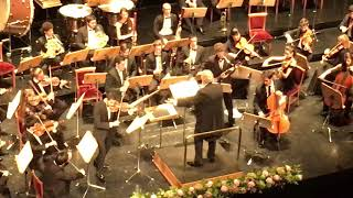 Elvin Hoxha Ganiyev | Haydn - Sinfonia Concertante /Conductor - Placido Domingo,Theatro Real, Madrid