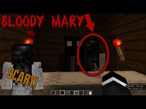 Do NOT Try The BLOODY MARY Challenge In Minecraft (SCARY)