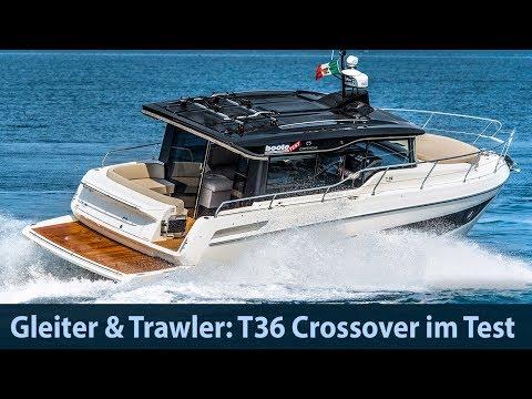 Cranchi T36 Crossover – 3 Kabinen Auf 11 Meter