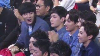 20160409 Top Chinese Music Awards_EXO Chenyu Hua Stage Reaction
