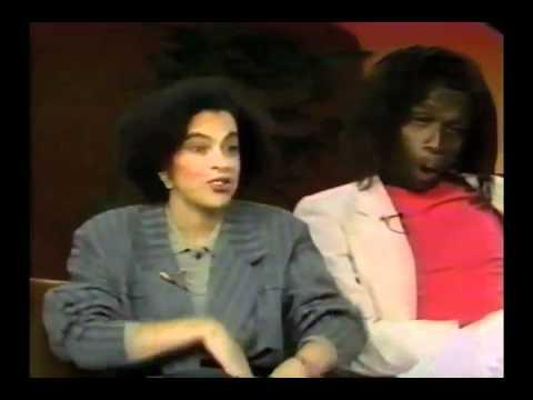 Edward C. Lawson on the TIMEOUT SHOW, FEBRUARY 1988 - Black vs. Black Part 5/6