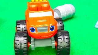 Blaze and the Monster Machines toys - Stunt show - Big trucks - Monster trucks for kids