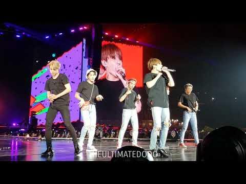 181006 Anpanman @ BTS 방탄소년단 Love Yourself Tour In Citi Field NYC Fancam 직캠