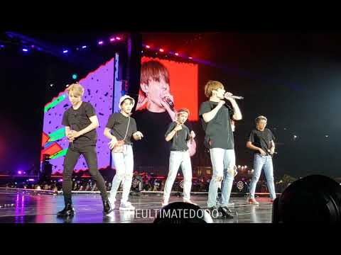 181006 Anpanman @ BTS 방탄소년단 Love Yourself Tour in Citi Field NYC Fancam 직캠
