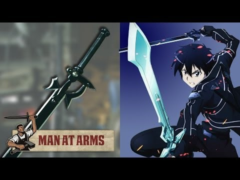 Kirito's Elucidator (Sword Art Online) - MAN AT ARMS