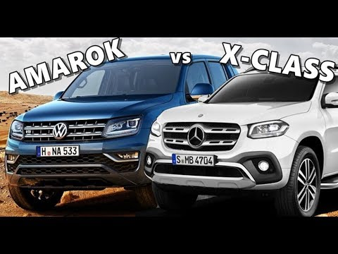 291333ad8138b8 Mercedes X-Class vs VW Amarok - YouTube