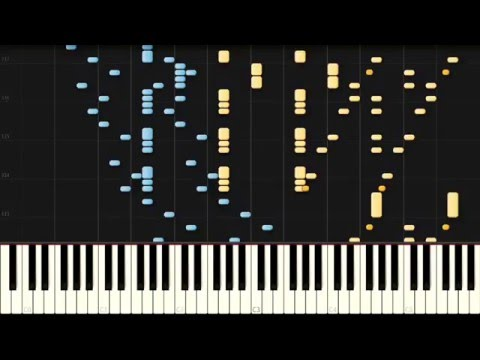 Symphony No. 1 in C major // BEETHOVEN (Arr. LISZT) [Piano Tutorial] (Synthesia)