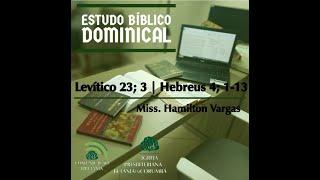 Estudo Bíblico Dominical - Levítico/Hebreus