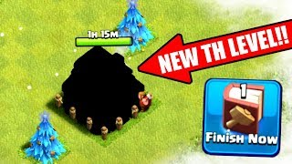 WE GOT A NEW TOWN HALL LEVEL IN CLASH OF CLANS!