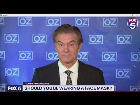 Will wearing face masks protect against coronavirus? Dr. Oz weighs in | FOX 5 DC