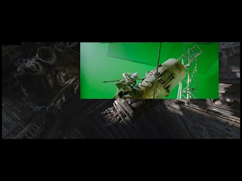 Star Wars The Force Awakens - CGI Breakdown (Behind The Scenes)