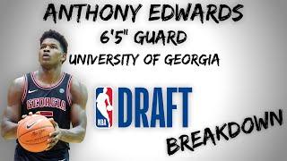 Anthony Edwards Draft Scouting Video | 2020 NBA Draft Breakdowns