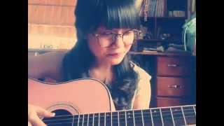 Tình yêu màu nắng guitar cover by Nki Nấm ( ver 2 )