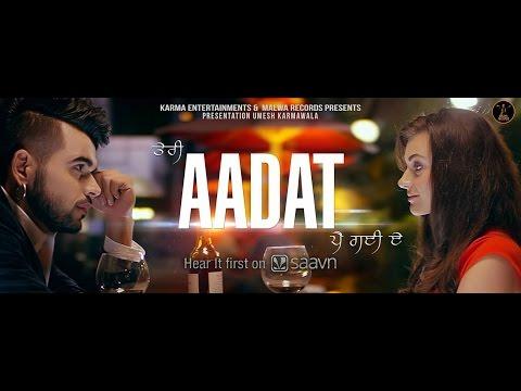 Ninja | Aadat | Latest Punjabi Songs 2015 - YouTube