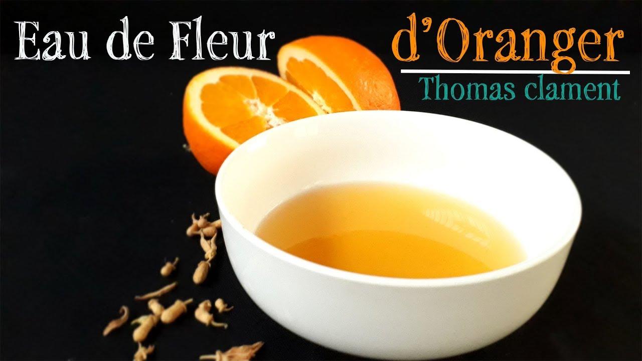 Faire son eau de Fleur d'Oranger / Thomas CLAMENT