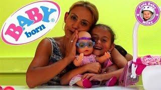 Baby Born Interactive Puppe Zapf Creation - Produktvorstellung Test Review - Kinderkanal