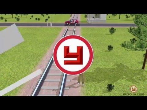 Учебный фильм: Железнодорожные переезды