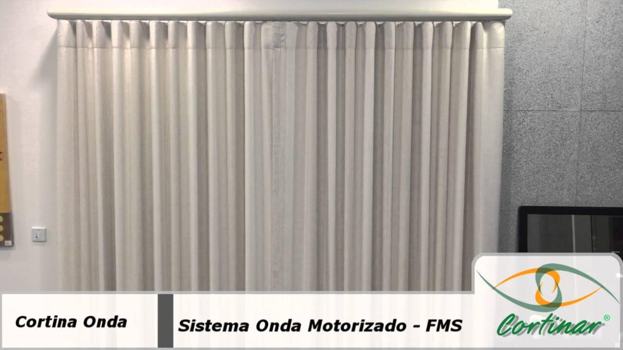 Cortina onda motorizada youtube - Cortinados modernos ...