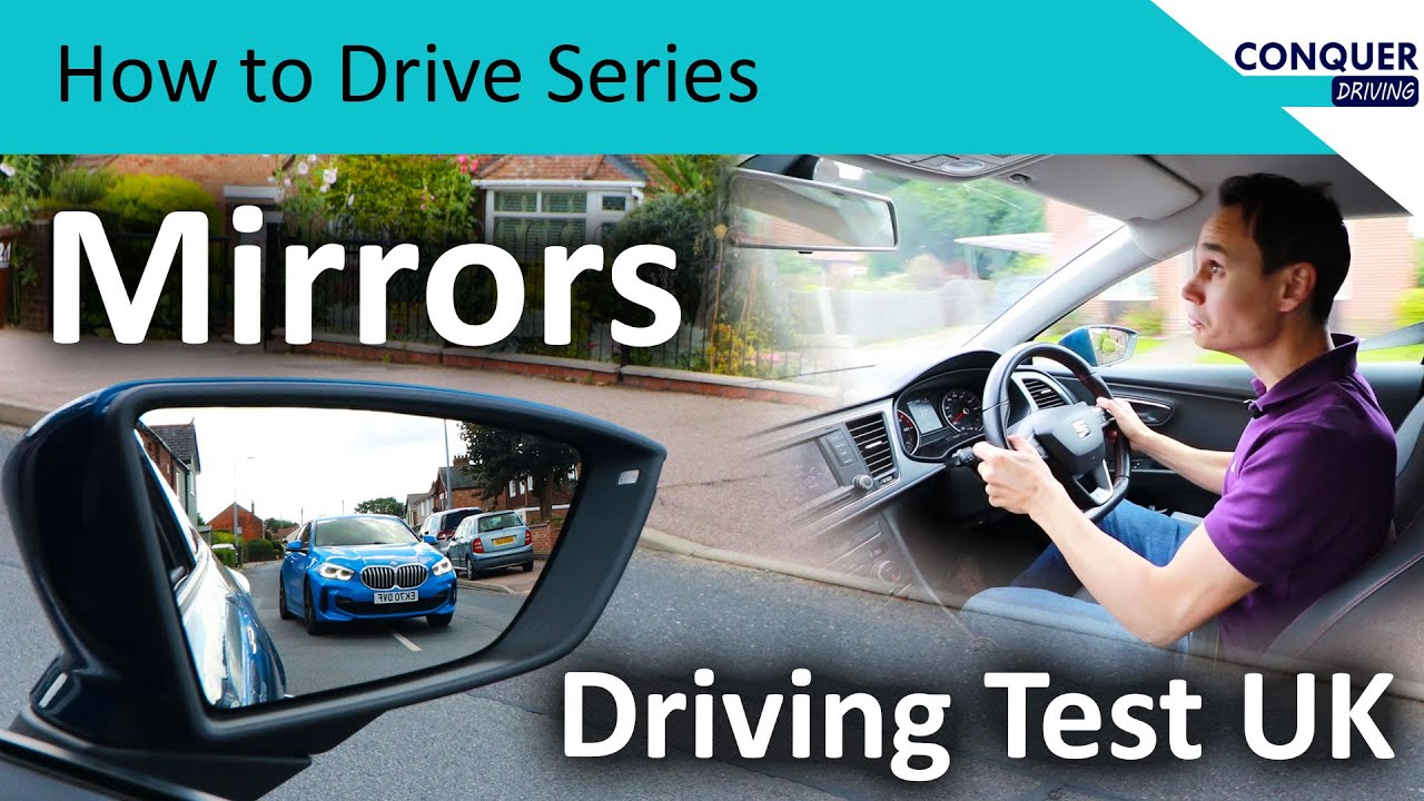 When to check mirrors - Driving test UK
