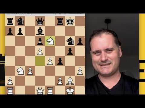 Partie D'entrainement Contre Un Fort Joueur Aux échecs