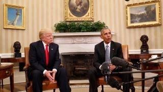 Incoming WH Press Secretary on why Obama slams Trump