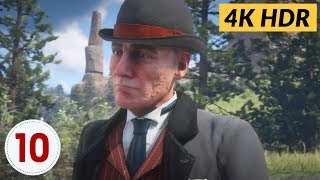 An American Pastoral Scene. Ep.10 - Red Dead Redemption 2 [4K HDR]