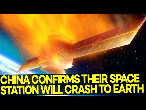WATCH OUT! China's Space Station 'OUT OF CONTROL' and WILL Crash to Earth