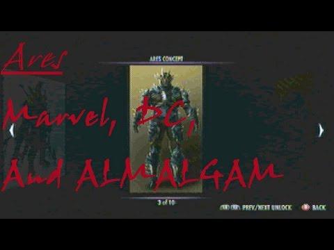 IJ (Ares): Marvel, DC, and AMALGAM!