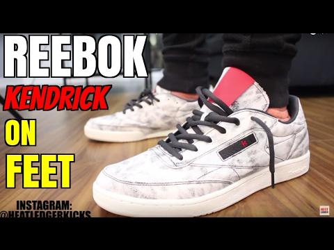 3d055272deaff 2017 Reebok Classic x Kendrick Lamar  Club C  In-Depth Review + On-Feet