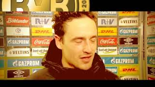 THOMAS DELANEY INTERVIEW BORUSSIA DORTMUND NACH SCHALKE 04 SPIEL