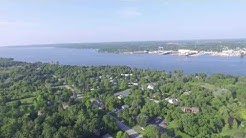 Sturgeon Bay Door County Aerial View