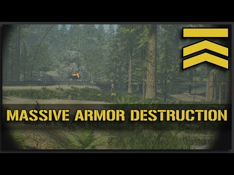 MASSIVE Armor Destruction - Squad Gameplay Alpha v9.4 BTR Full Match